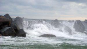 Helgoland Düne Sturm