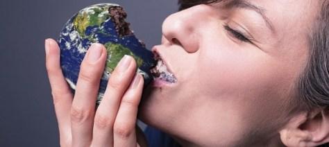 Konsumieren bis die Erde bricht
