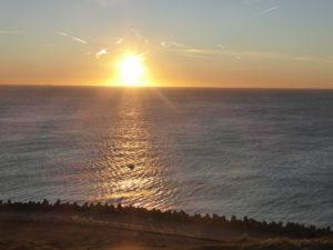 Sonnenuntergang Helgolan