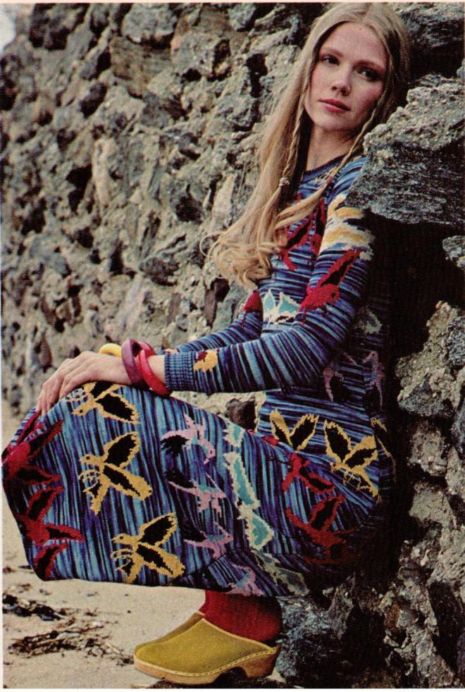 #TBT, Space Dye Yarn Jacquards