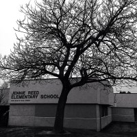 Jennie Reed Elementary in Winter