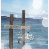 Bike in a Pier, Ruston Way, Tacoma