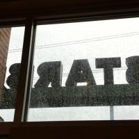 Starbucks in the Rain