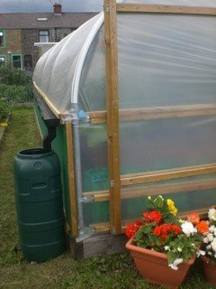Collecting Rainwater From Your Polytunnel Polytunnel