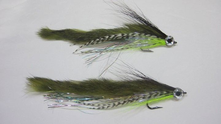 Magnum Zonker Strips for fly tying For Making Trout Flies Rabbit Zonkers