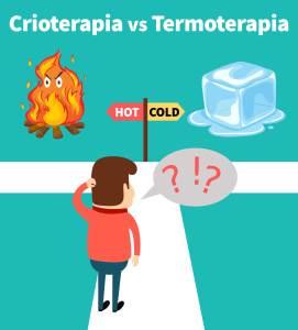 crioterapia vs termoterapia