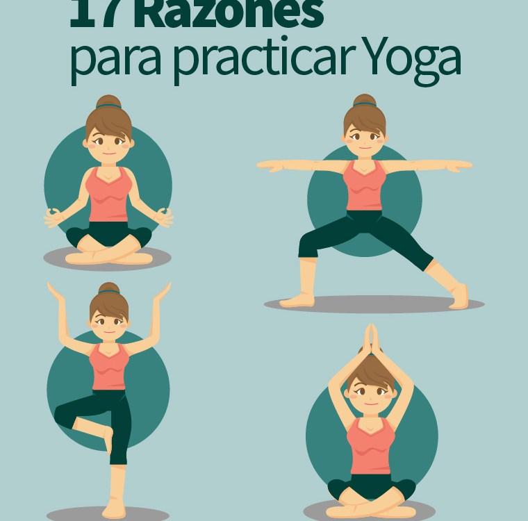 17 razones para practicar yoga
