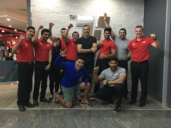 The MYZONE 25 Million Calorie Challenge - Fitness First DFC Team