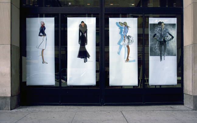 Audry Schilt - Window Display