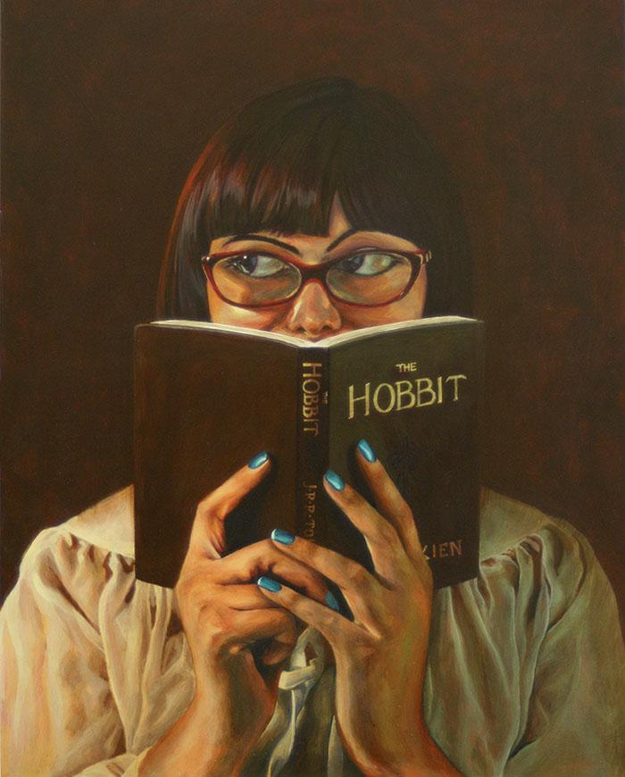 """Hiu Lim's """"Portrait of Christine"""""""