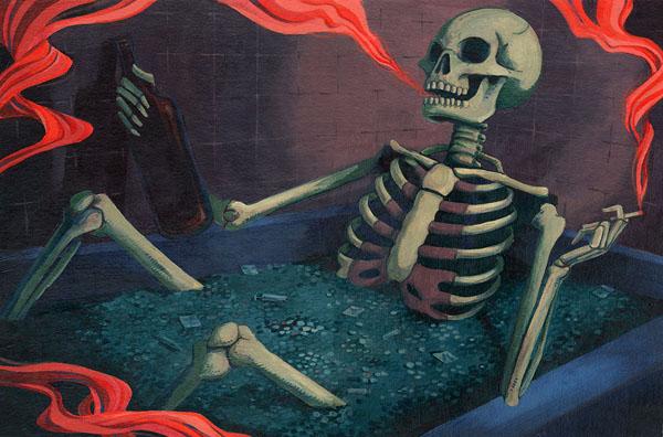 """Drug Bath"" by Rebekie Bennington"