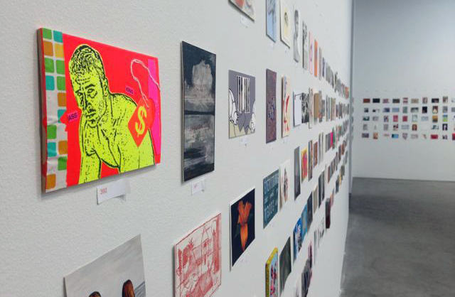 """Postcards from the Edge"" exhibition. Photo courtesy of Visual AIDS"
