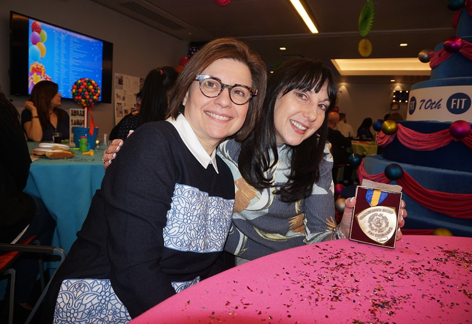 Dean Joanne Arbuckle and Darlene Levy-Birnbaum