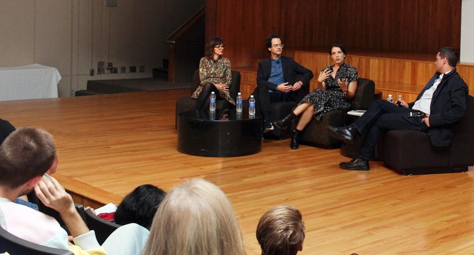 Gail Bichler, Michael Famighetti, Charlotte Strick with Lucke Hayman