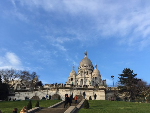 Sacre Coeur in Montmartre AKA one of my favorite places on earth.