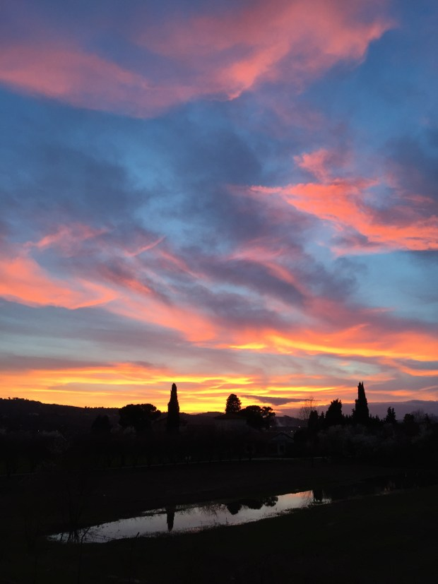 """Scandicci also wins the award for """"Best Sunsets in Florence""""."""