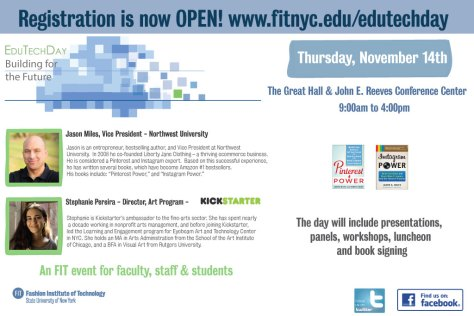 Edu Tech Day 2013 flyer