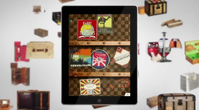 LV brings their product roots to iPad