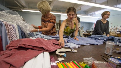 The Summer Institute focuses on sustainability and technology in fashion.d textiles.