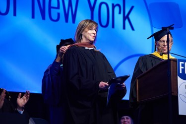Jane Rosenthal Receives Honorary Degree