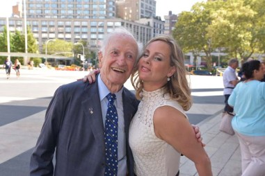 Pete Scotese, FIT trustee emeritus and Yaz Hernandez, Couture Council Chair, FIT trustee