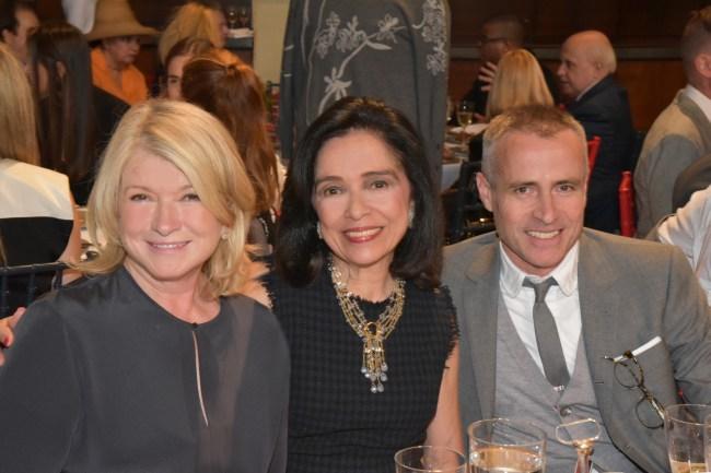 Martha Stewart, Dr. Joyce Brown, Thom Browne