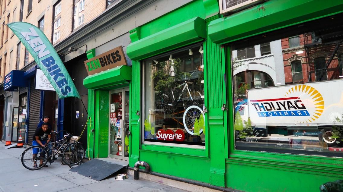 Zen bike shop