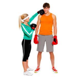 couple gym workout