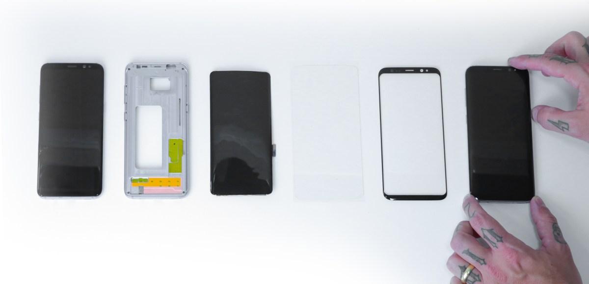 Itens que compõe a tela do celular