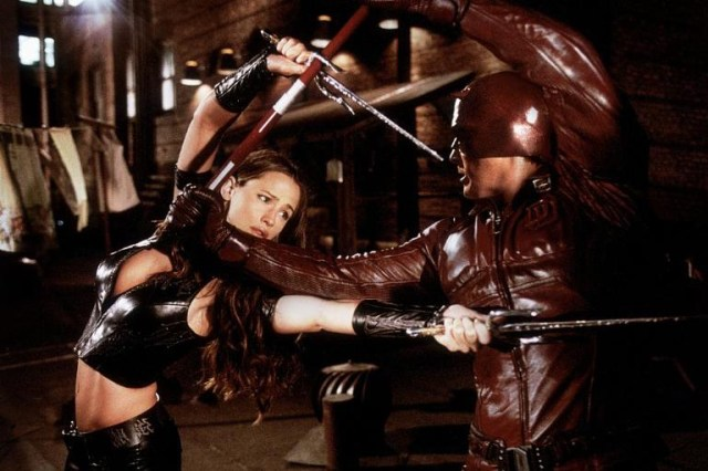 "Elektra (Jennifer Garner) in ""Daredevil"", 2005"