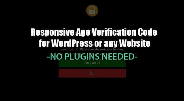 age verification code
