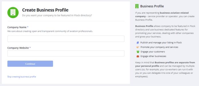 Flock Business Profile