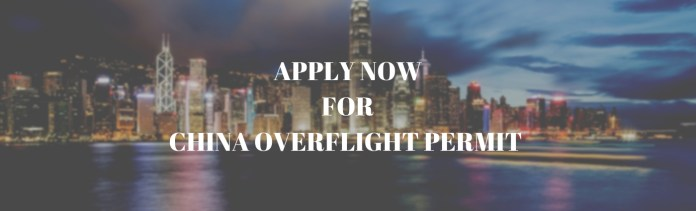 Apply to China Overflight Permit