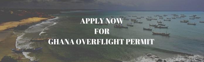Apply to Ghana Overflight Permit