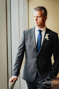 Flora Nova Design Seattle Luxury White Wedding Sodo Park Groom