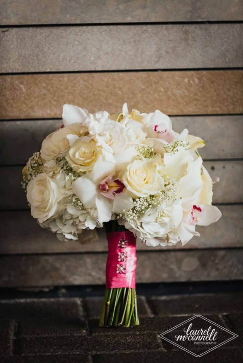 Flora Nova Design Seattle Luxury White Wedding Sodo Park Bridal Bouquet
