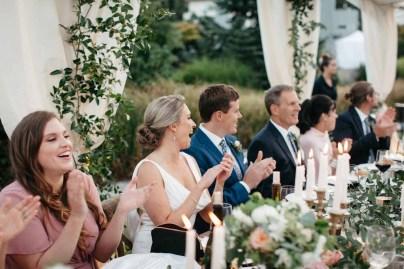 Elegant Tent Wedding by the Sea Flora Nova Design