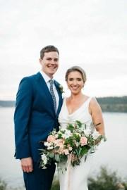 Elegant Tent Wedding by the Sea Flora Nova Design Seattle