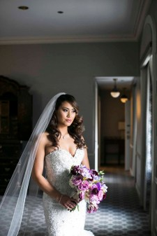 Elegant purple Seattle Fairmont Wedding Flora Nova Design