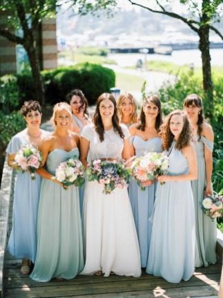 Blush and Greenery Tent Wedding Flora Nova Design Seattle