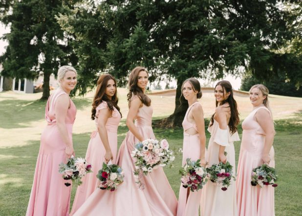 brides maids, summer bouquets, local wedding flowers, Flora Nova Design