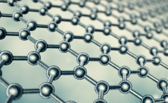 A representation of the Graphene molecular structure