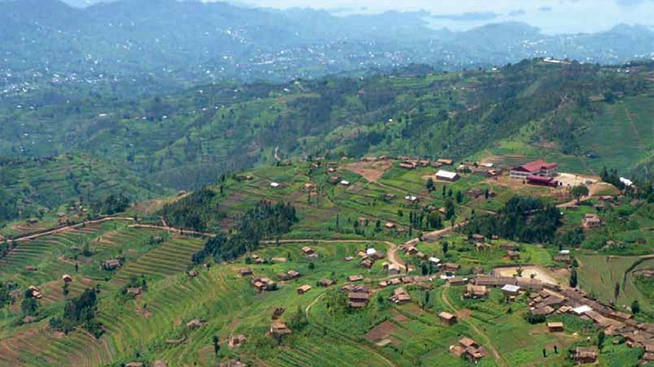 Remote stretches of Rwanda