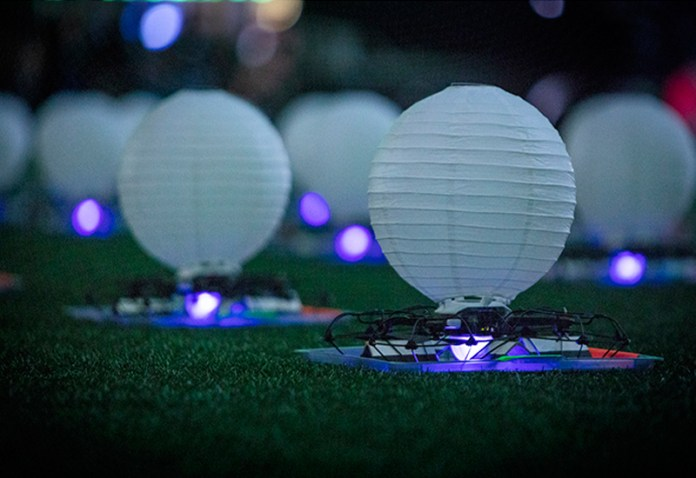 The shooting star drones of intel with a modified white lantern like appearance.