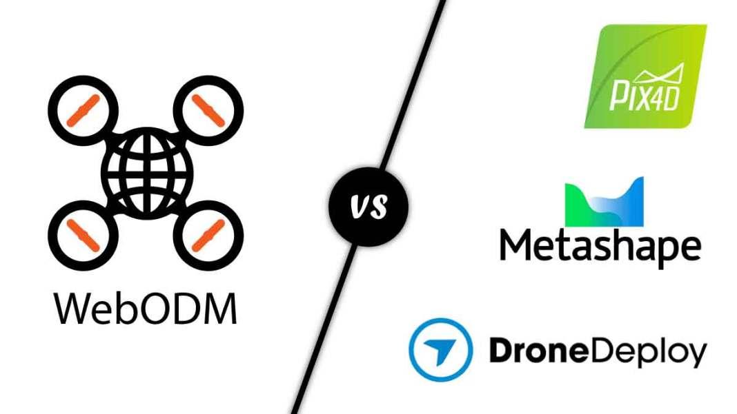 WebODM vs Pix4d DroneDeploy Agisoft Metashape