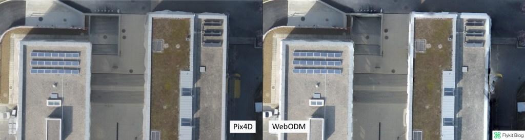 Pix4D vs WebODM - UAV Demo 4