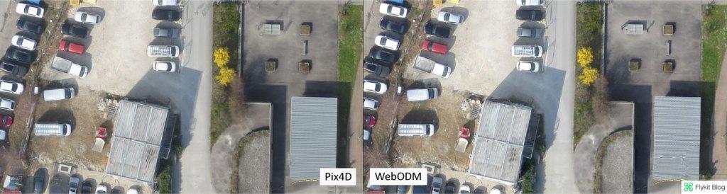 Pix4D vs WebODM - UAV Demo 7