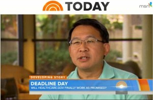 Luke Chung on NBC Today Show 2013-11-30