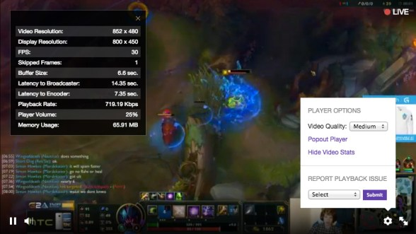 Video quality settings can be found on the bottom right of the video player but new streamers may not have them.