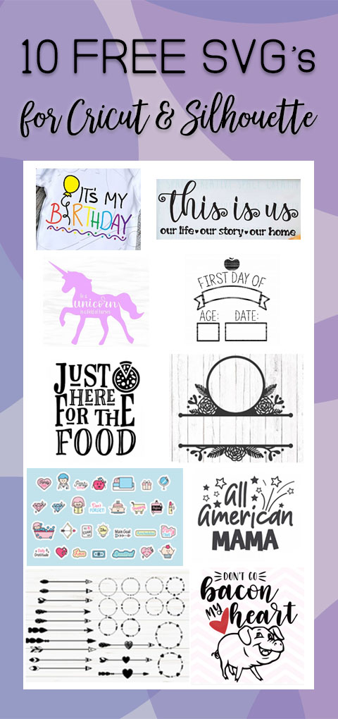 Download 10 FREE SVG files for Cricut and Silhouette | The Font ...